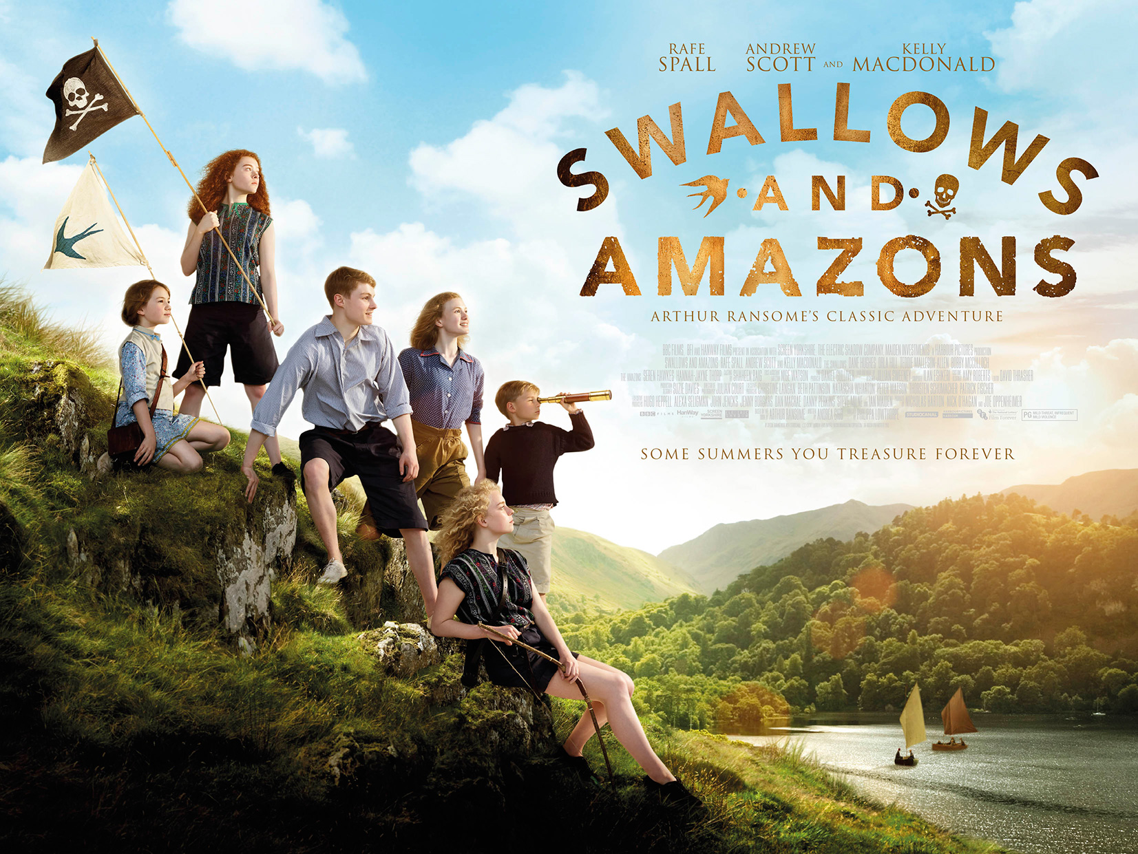Swallows & Amazons Quad