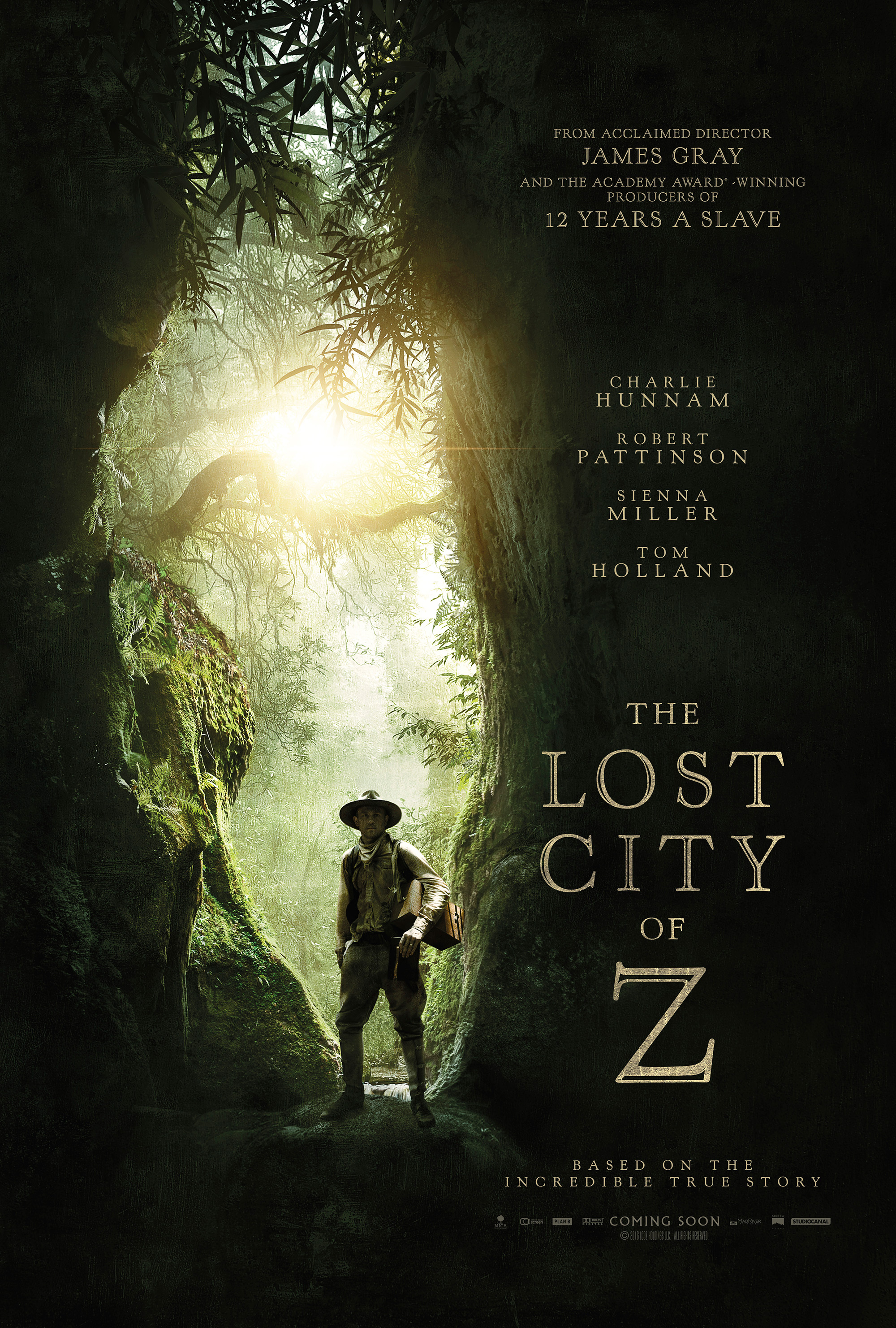 The Lost City of Z Artwork