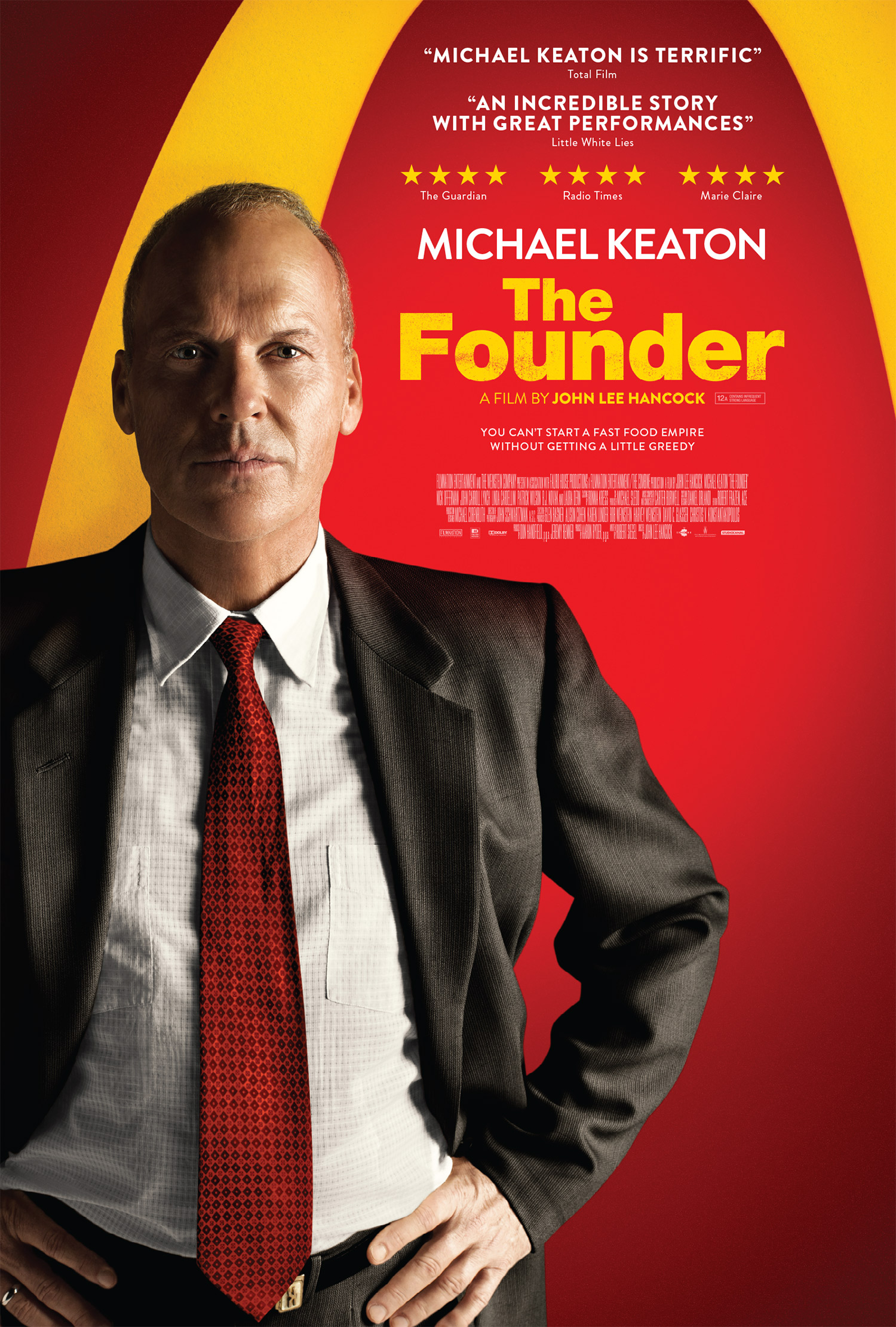 The Founder 1 Sheet Artwork