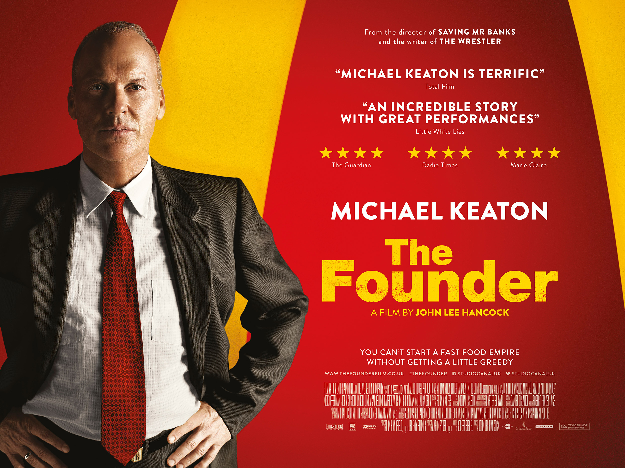 The Founder Quad Artwork